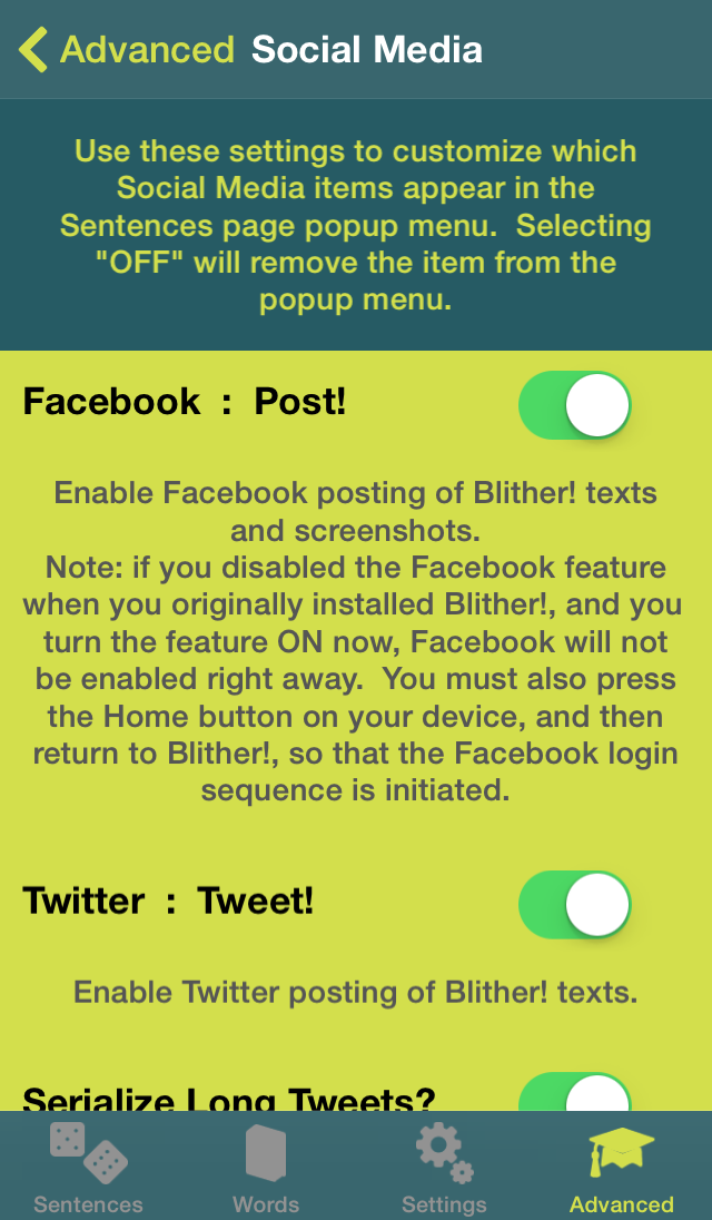 Blither! - Advanced - Social Media (1)